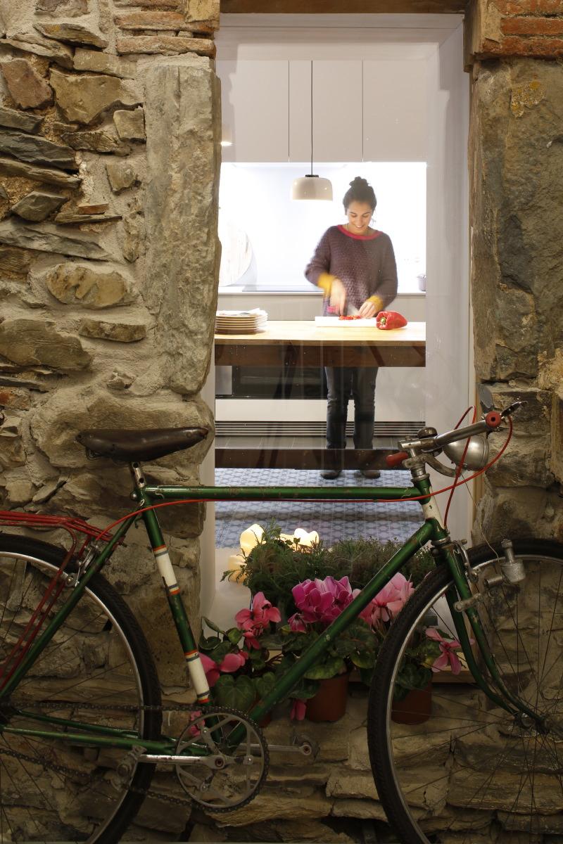 Conocer Mas Vivent en bicicleta Girona